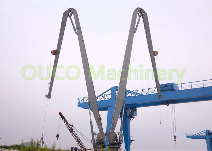 2.5 T Hydraulic Knuckle Crane Compact Design Durable Low Power Consumption